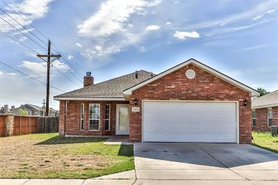 Lubbock Single Family Home For Sale: 3401 Pontiac