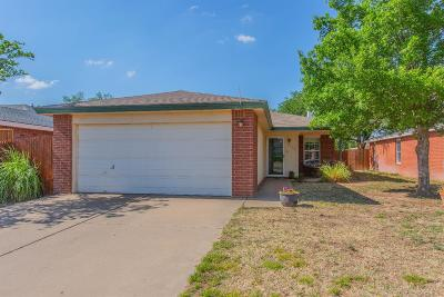 Lubbock Single Family Home Under Contract: 6108 39th Street