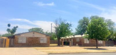 Lubbock Multi Family Home For Sale: 1805 66th Street