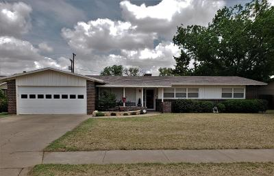 Lubbock Single Family Home For Sale: 2712 59th Street