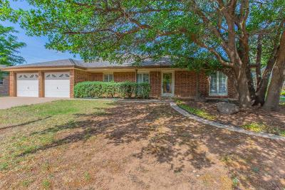 Lubbock Single Family Home For Sale: 8012 Chicago Avenue