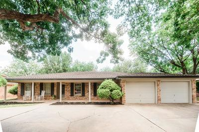 Lubbock Single Family Home For Sale: 5505 75th Street