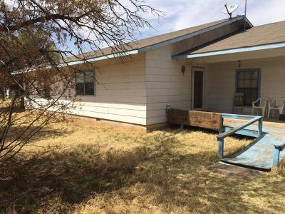 Shallowater TX Single Family Home Under Contract: $33,000