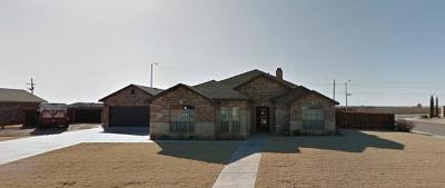 Lubbock Single Family Home Under Contract: 12502 Hudson Avenue