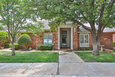 Lubbock Single Family Home Under Contract: 5613 83rd Lane