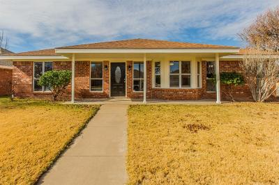Lubbock Single Family Home For Sale: 9702 Abbeville Avenue
