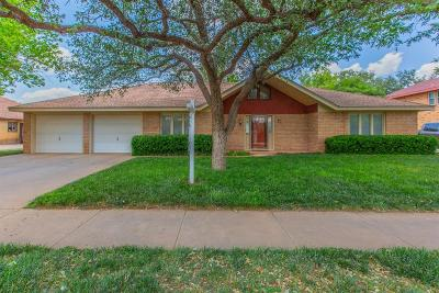 Lubbock Single Family Home For Sale: 3408 92nd Street