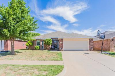 Lubbock Single Family Home For Sale: 6714 89th Street