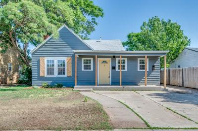 Lubbock Single Family Home For Sale: 1910 26th Street