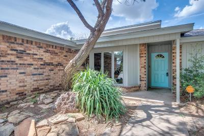 Lubbock Single Family Home For Sale: 5218 94th Street