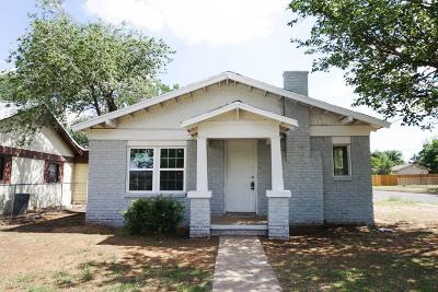 Lubbock Single Family Home For Sale: 1925 27th Street