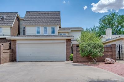 Lubbock Garden Home For Sale: 3307 79th Street
