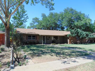 Lubbock Single Family Home Under Contract: 3525 58th Street