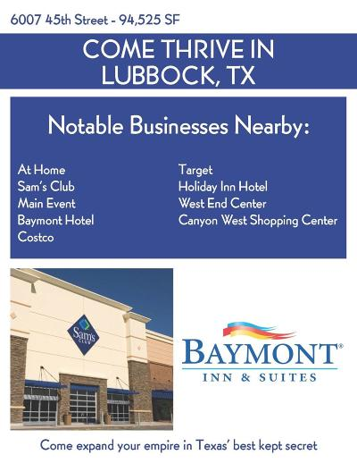 Lubbock Commercial Lots & Land For Sale: 6007 45th Street