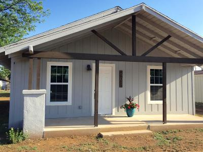 Idalou TX Single Family Home Under Contract: $126,800