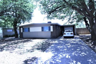 Lubbock County Single Family Home Under Contract: 2807 65th Street