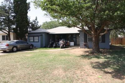 Single Family Home For Sale: 5122 39th Street
