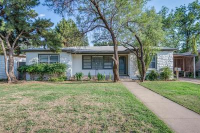 Single Family Home For Sale: 3709 26th Street