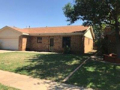 Single Family Home For Sale: 5011 59th Street