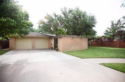 Lubbock TX Single Family Home For Sale: $239,500