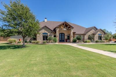 Lubbock Single Family Home For Sale: 6403 County Road 1440