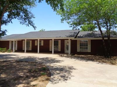 Littlefield Single Family Home For Sale: 701 E 11th Street