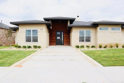 Lubbock Single Family Home For Sale: 3712 118th Street
