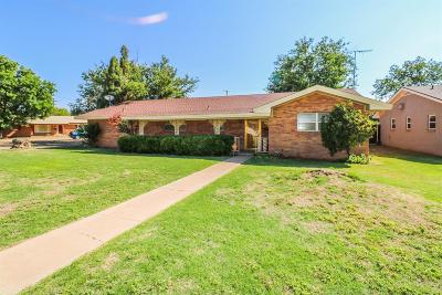 Littlefield TX Single Family Home For Sale: $89,500