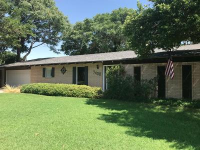 Single Family Home For Sale: 3408 64th Street