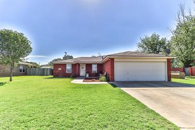 Abernathy Single Family Home Under Contract: 1008 Ave F