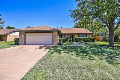 Lubbock Single Family Home For Sale: 5604 Emory Street