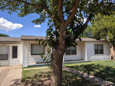 Lubbock TX Single Family Home For Sale: $107,900