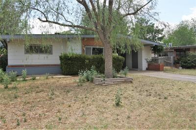 Lubbock TX Single Family Home For Sale: $75,000