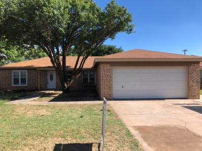 Shallowater Single Family Home Under Contract: 1308 10th Street