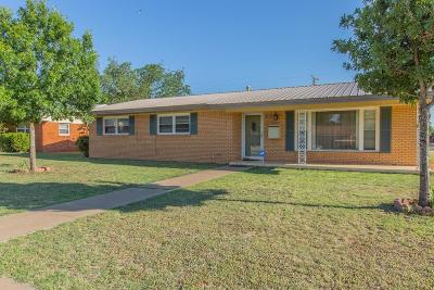 Lubbock Single Family Home For Sale: 4902 12th Street
