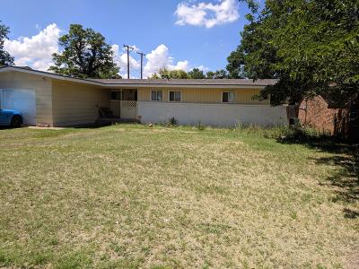 Single Family Home For Sale: 3808 49th Street