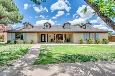 Lubbock Single Family Home For Sale: 9311 Utica Drive