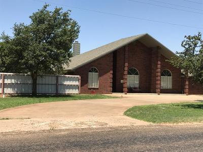 Levelland Single Family Home For Sale: 1720 West Avenue