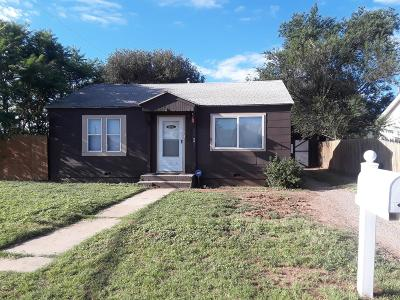 Single Family Home For Sale: 1101 44th Street