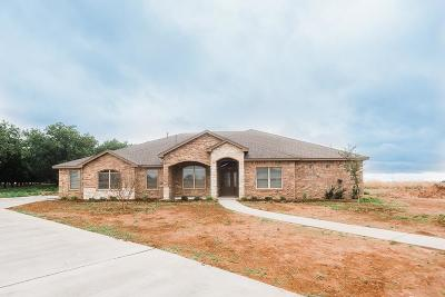 Lubbock Single Family Home For Sale: 5906 134th Street