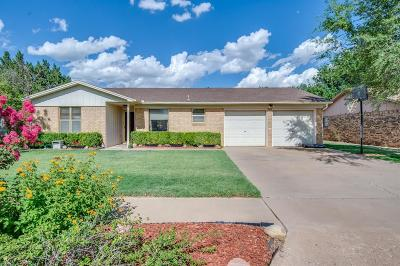 Lubbock Single Family Home For Sale: 9605 Bangor Avenue