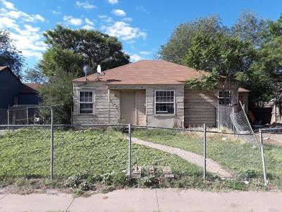 Single Family Home For Sale: 1505 26th Street