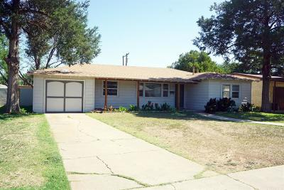 Lubbock Single Family Home For Sale: 4010 43rd Street