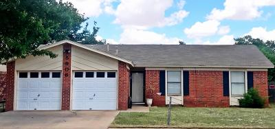 Lubbock Single Family Home For Sale: 5906 15th Street