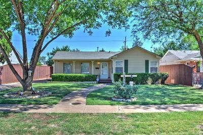 Lubbock Single Family Home For Sale: 3106 33rd Street