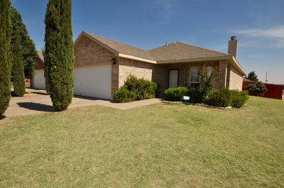 Lubbock TX Single Family Home For Sale: $145,700