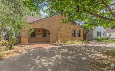 Lubbock TX Single Family Home For Sale: $339,500