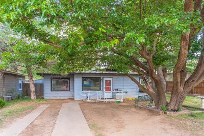 Lubbock County Single Family Home For Sale: 4803 Detroit Avenue