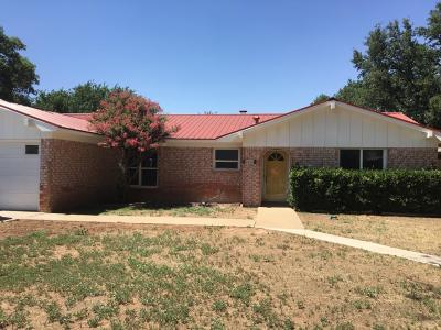 Lubbock Single Family Home For Sale: 2606 77th Street