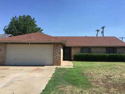 Lubbock TX Single Family Home For Sale: $137,400